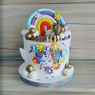 Unicorn ♥️🍰🦄🎂 - Cake by Desislava Tonkova