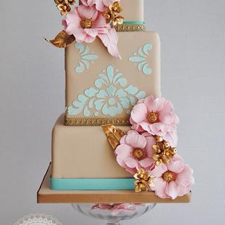 Versailles wedding cake