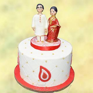 Anniversary Cake!  - Cake by Seema Acharya