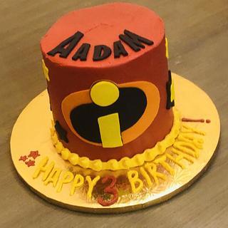 Incredibles birthday cake - Cake by MerMade