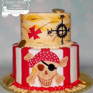 Pirate - Cake by Sugar Sweet Cakes