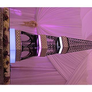 The Eiffel Tower Wedding Cake