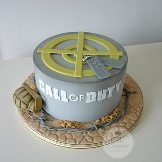 Call of Duty birthday cake - Cake by Isabelle Bambridge