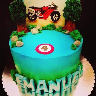 Motor cake