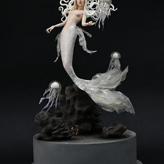 Dark Mermaids Collaboration - Cake by Le Creazioni di Ninfa - Ninfa Tripudio