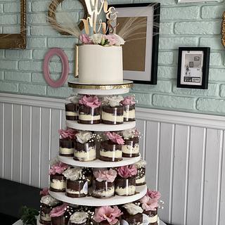 Wedding mini cakes  - Cake by Martina Encheva
