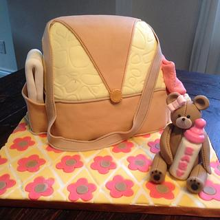 Diaper bag - Cake by Dkn1973