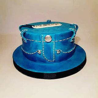 Jeans cake