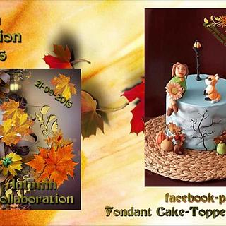 Sweet autumn collaboration 2016 - Cake by Msilvafonseca