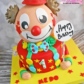 clown cake 🎊