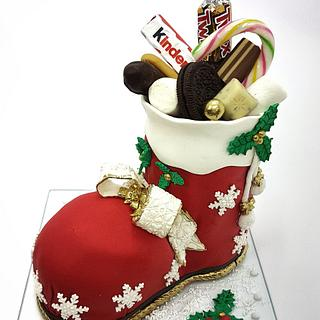Xmas 3d cake - Cake by My little cakes