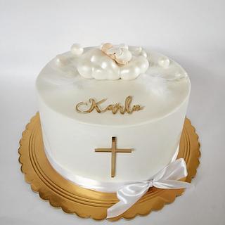 Christening cake - Cake by Tortebymirjana