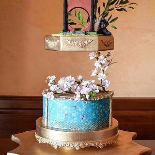 Zen Garden - Cake by Veronica Seta
