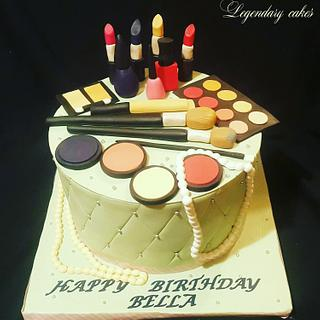 Makeup cake by Occasions❤️❤️