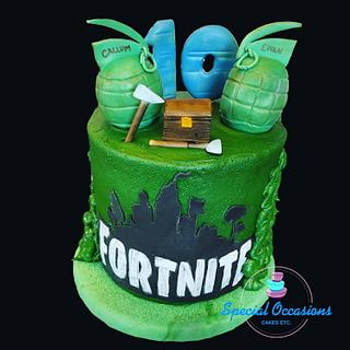 Fort nite in Buttercream  - Cake by Special Occasions - Cakes, Etc