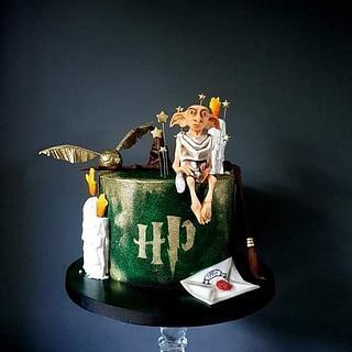 Dobby cake - Cake by Radoslava Kirilova (Radiki's Cakes)