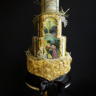 "Art Nouveau Meets Cake Artist Collab, ""Secret Garden"""