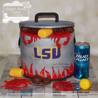 LSU/Crab Boil Pot - Cake by Sugar Sweet Cakes