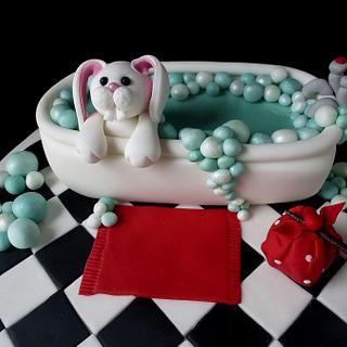 Bathtime Bunny