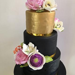 60th bday cake