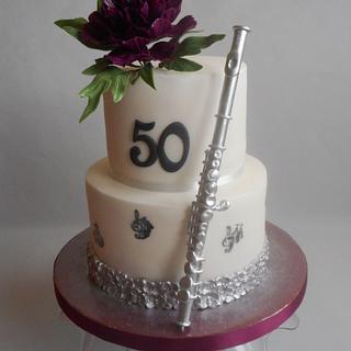 Flute cake