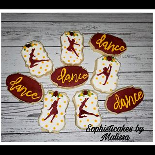 Danceline Cookies - Cake by Sophisticakes by Malissa