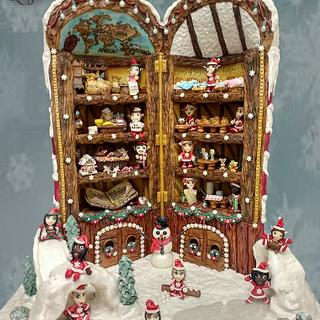 The North Pole - Cake by Phil O'Regan