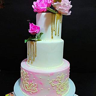 Wedding Cake - Cake by Lefteris