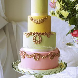 Laduree inspired cake
