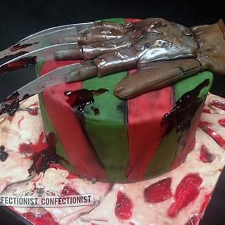 Nightmare on Elm Street - Freddy Krueger Cake