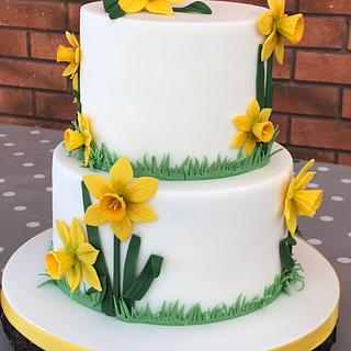 """""""Roll on Spring"""" - Cake by Lorraine Yarnold"""