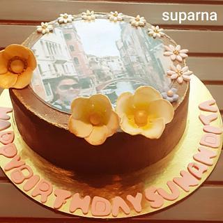 Birthday cake. - Cake by Suparna