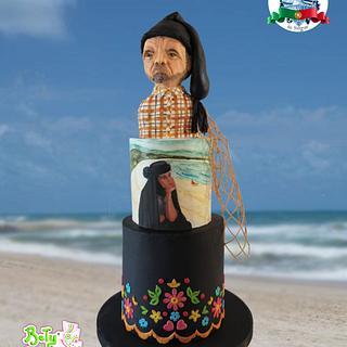 Nazaré - Portugal Wonders in Sugar - Cake by Bety'Sugarland by Elisabete Caseiro