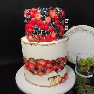 Fruit  fault cake - Cake by Kaliss