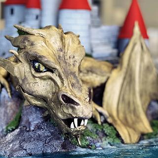 Dungeons and dragons  - Cake by Olga Danilova