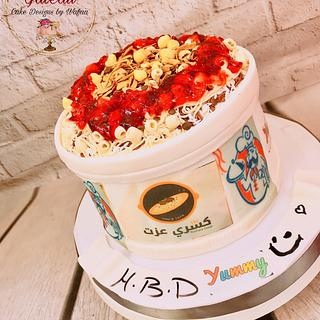 ''Koshari'' an Egyptian food cake - Cake by Wafaa mahmoud