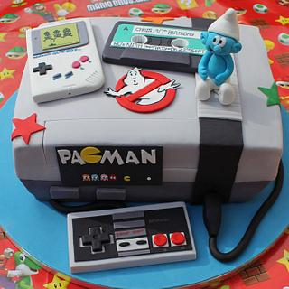 80s inspired cake for a 30th - Cake by Cake Creations By Hannah
