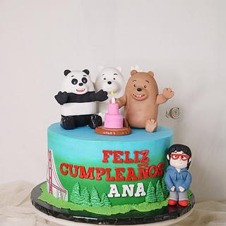 We Bare Bears - Cake by CandiRosa