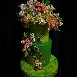 Birthday cake - Cake by WorldOfIrena