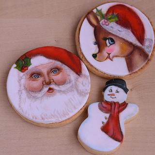 Christmas cookies  - Cake by SomaHaleem