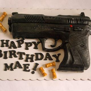 Gun Cake