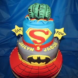 Super Hero Cake - Cake by Vilma