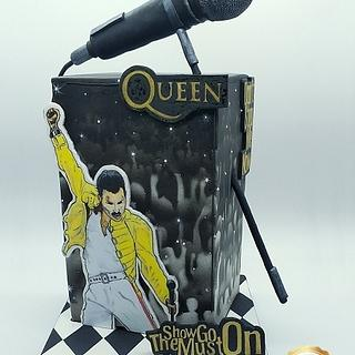 Freddie Mercury - Gone but not Forgotten- A Cake Collective Collaboration - Cake by Eve´s Zucker-Himmel