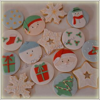 Christmas cookies - Cake by Konstantina - K & D's Sweet Creations