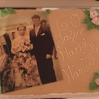 Diamond Wedding Cake - Cake by Steffi