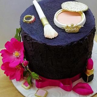 Make up cake - Cake by babkaKatka