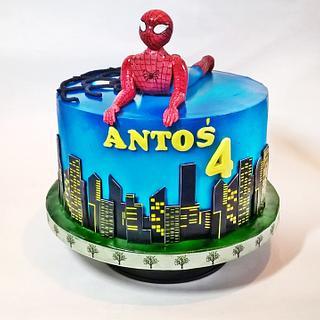 Spiderman cake !