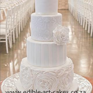 Elegant mixed 4 tier Cake