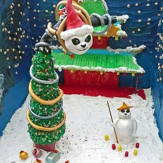 Bake A Christmas Wish - Kung Fu Panda