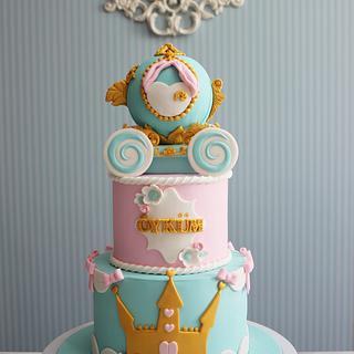 Cinderella princess carriage Cake / cupcake / cookie